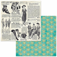 BoBunny - Something Splendid Collection - 12 x 12 Double Sided Paper - Copacetic