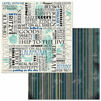 BoBunny - Something Splendid Collection - 12 x 12 Double Sided Paper - Flapper