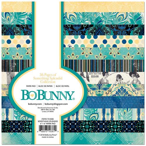 BoBunny - Something Splendid Collection - 6 x 6 Paper Pad