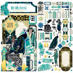 BoBunny - Something Splendid Collection - Noteworthy Journaling Cards