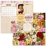 BoBunny - Banner Year Collection - 12 x 12 Double Sided Paper - May