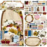 BoBunny - Banner Year Collection - Noteworthy Journaling Cards