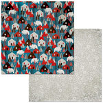 BoBunny - Winter Getaway Collection - 12 x 12 Double Sided Paper - Homestead