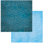 BoBunny - Winter Getaway Collection - 12 x 12 Double Sided Paper - Snowballs