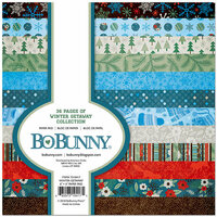 BoBunny - Winter Getaway Collection - 6 x 6 Paper Pad