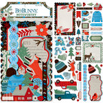 BoBunny - Winter Getaway Collection - Noteworthy Journaling Cards