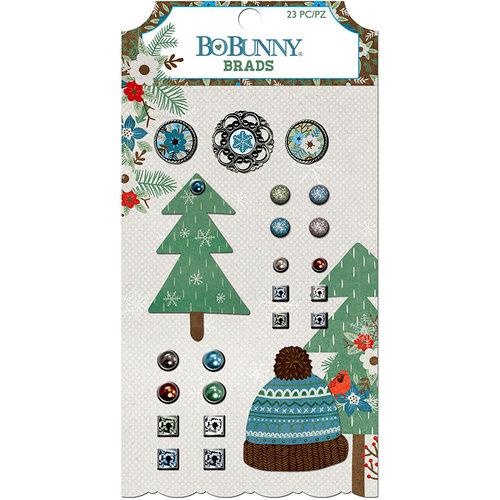 BoBunny - Winter Getaway Collection - Brads