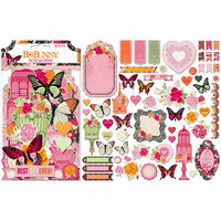 Bo Bunny - Sweet Clementine Collection - Noteworthy Journaling Cards