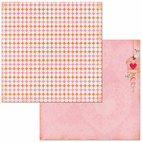 Bo Bunny - Sweet Clementine Collection - 12 x 12 Double Sided Paper - Charisma