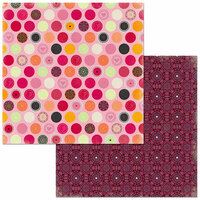 Bo Bunny - Sweet Clementine Collection - 12 x 12 Double Sided Paper - Graceful