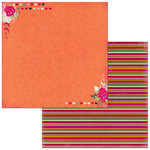 Bo Bunny - Sweet Clementine Collection - 12 x 12 Double Sided Paper - Kindness