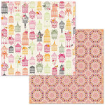 Bo Bunny - Sweet Clementine Collection - 12 x 12 Double Sided Paper - Lavish