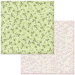 Bo Bunny - Sweet Clementine Collection - 12 x 12 Double Sided Paper - Roses