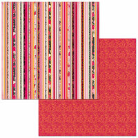 Bo Bunny - Sweet Clementine Collection - 12 x 12 Double Sided Paper - Sublime