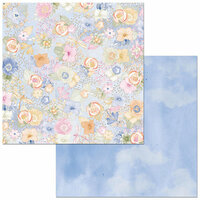Bo Bunny - Harmony Collection - 12 x 12 Double Sided Paper - Harmony