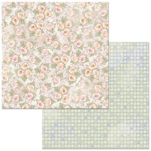 Bo Bunny - Harmony Collection - 12 x 12 Double Sided Paper - Beauty