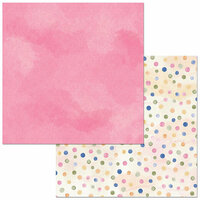 Bo Bunny - Harmony Collection - 12 x 12 Double Sided Paper - Everywhere