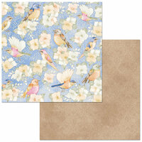 Bo Bunny - Harmony Collection - 12 x 12 Double Sided Paper - In The Air