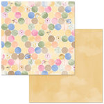 Bo Bunny - Harmony Collection - 12 x 12 Double Sided Paper - Perfection