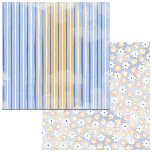 Bo Bunny - Harmony Collection - 12 x 12 Double Sided Paper - Petals