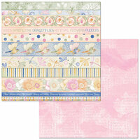 Bo Bunny - Harmony Collection - 12 x 12 Double Sided Paper - Renewal