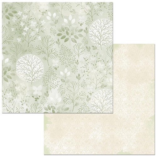 Bo Bunny - Harmony Collection - 12 x 12 Double Sided Paper - Springtime