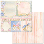 Bo Bunny - Harmony Collection - 12 x 12 Double Sided Paper - Welcome