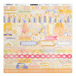 Bo Bunny - Harmony Collection - 12 x 12 Cardstock Stickers