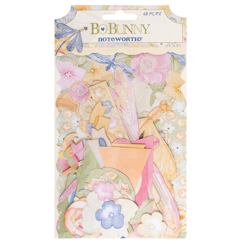 Bo Bunny - Harmony Collection - Noteworthy Journaling Cards