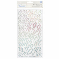 BoBunny - Harmony Collection - Thickers - Foam - Foil - Alpha