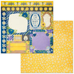 Bo Bunny - Bee-utiful You Collection - 12 x 12 Double Sided Paper - Pretty