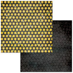 Bo Bunny - Bee-utiful You Collection - 12 x 12 Double Sided Paper - Sunflowers