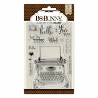 BoBunny - Clear Acrylic Stamps - Just My Type
