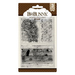BoBunny - Clear Acrylic Stamps - Rustic Textures