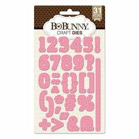 BoBunny - Craft Dies - Triple Play - Numbers