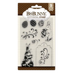 BoBunny - Cottontail Collection - Clear Acrylic Stamps