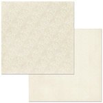 BoBunny - Double Dot Designs Collection - 12 x 12 Double Sided Paper - Lace - French Vanilla