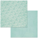 BoBunny - Double Dot Designs Collection - 12 x 12 Double Sided Paper - Lace - Island Mist