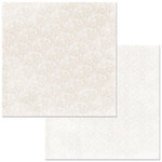 BoBunny - Double Dot Designs Collection - 12 x 12 Double Sided Paper - Lace - Sugar