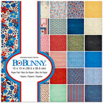 BoBunny - Celebrating Freedom Collection - 12 x 12 Paper Pad