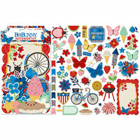 BoBunny - Celebrating Freedom Collection - Noteworthy Journaling Cards