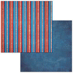 BoBunny - Celebrating Freedom Collection - 12 x 12 Double Sided Paper - Stars and Stripes