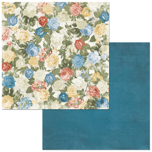 BoBunny - Boulevard Collection - 12 x12 Double Sided Paper - Boulevard d'Amour