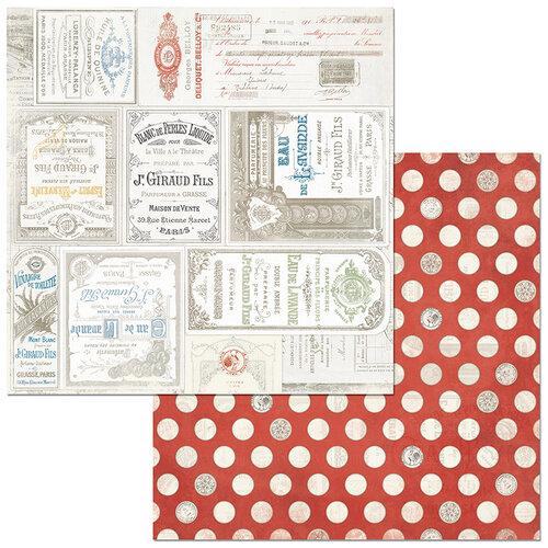 BoBunny - Boulevard Collection - 12 x12 Double Sided Paper - Boulevard de Belleville