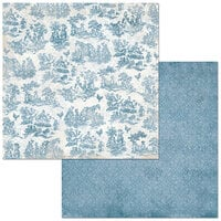 BoBunny - Boulevard Collection - 12 x12 Double Sided Paper - Boulevard d'elegance