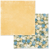 BoBunny - Boulevard Collection - 12 x12 Double Sided Paper - Boulevard des Fleurs