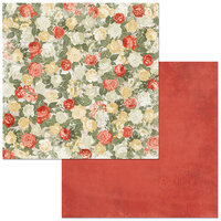 BoBunny - Boulevard Collection - 12 x12 Double Sided Paper - Boulevard du Jardin