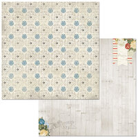 BoBunny - Boulevard Collection - 12 x12 Double Sided Paper - Boulevard des Romatiques