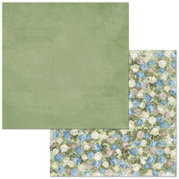 BoBunny - Boulevard Collection - 12 x12 Double Sided Paper - Boulevard des Roses
