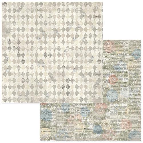 BoBunny - Boulevard Collection - 12 x12 Double Sided Paper - Boulevard de Versailles